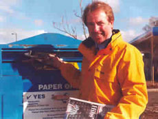 John Barrett - paper recycling