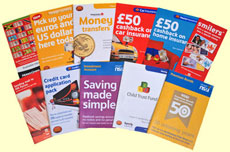 Post Office leaflets