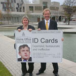 John Barrett MP and Margaret Smith MSP opposing ID cards