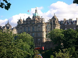The Bank of Scotland headquarters on the Mound, Edinburgh