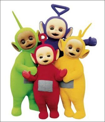 The Teletubbies - victims of DVD piracy