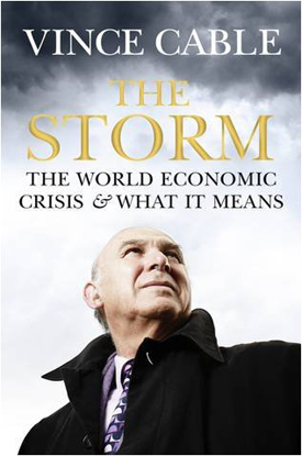 Vince Cable's bestseller, The Storm